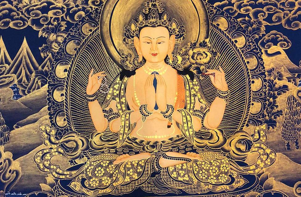 2.La sculpture sino-tibétaine en métal doré de l'époque Ming ( 1368-1644)